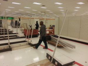 Cleaning Target Store