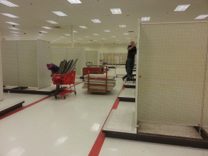 Cleaning out target